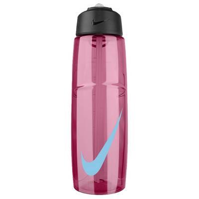 Nike T1 Flow Swoosh Trinkflasche pink / blau