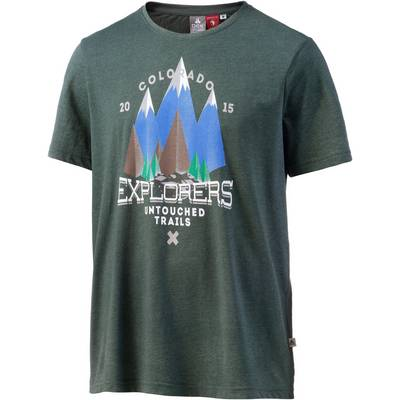 OCK Printshirt Herren dunkelgrün