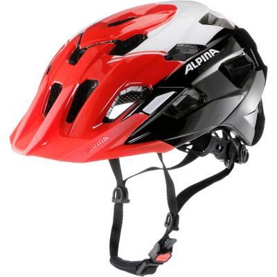 ALPINA Yedon Fahrradhelm schwarz/rot