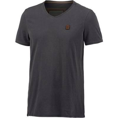 Naketano Schimpanski V V-Shirt Herren anthrazit/blau
