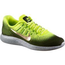 Nike Lunarglide 8 Shield Laufschuhe Herren neongelb/khaki/gold