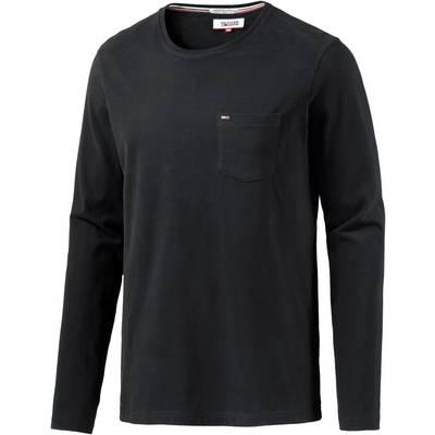 tommy hilfiger langarmshirt herren schwarz im online shop. Black Bedroom Furniture Sets. Home Design Ideas