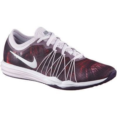 Nike DUAL FUSION TR HIT PRINT Fitnessschuhe Damen lila