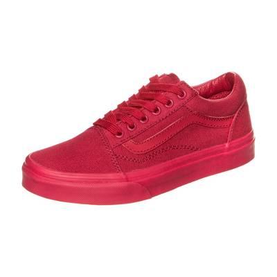 Vans Old Skool Sneaker Kinder rot
