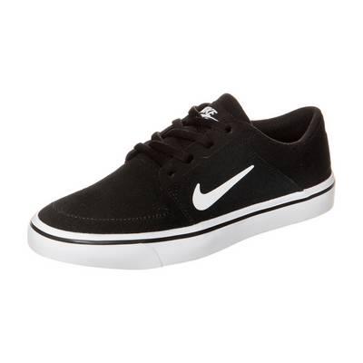 Nike Portmore Sneaker Kinder schwarz / weiß
