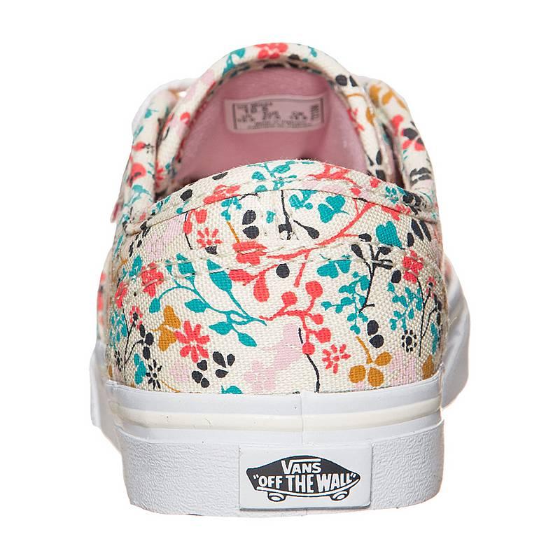Vans Atwood Low Floral Sneaker Kinder, natur, creme / bunt
