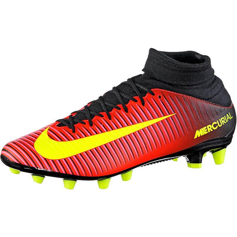finest selection 6cc4d 70e58 Nike MERCURIAL VELOCE III DF AG-PRO Fußballschuhe Herren orangegelbpink