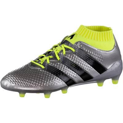 adidas ACE 16.1 PRIMEKNIT FG Fußballschuhe Herren silber/gelb