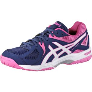 ASICS Gel-Hunter 3 Hallenschuhe Damen navy-pink
