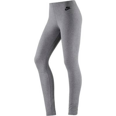 Nike LEG A SEE Leggings Damen grau/schwarz
