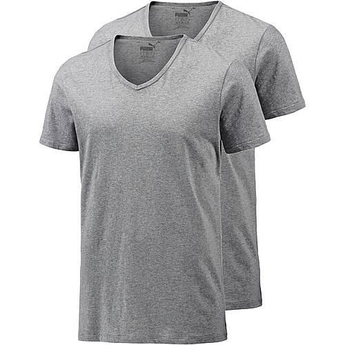 PUMA V-Shirt Herren graumelange