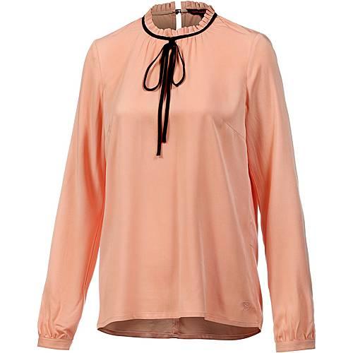 tom tailor langarmbluse damen apricot im online shop von sportscheck kaufen. Black Bedroom Furniture Sets. Home Design Ideas