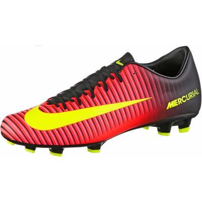 Nike MERCURIAL VICTORY VI FG Fußballschuhe Herren orange/gelb/pink