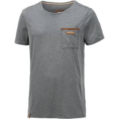Naketano Suppenkasper V T-Shirt Herren anthrazit washed