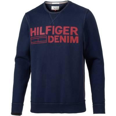Tommy Hilfiger Sweatshirt Herren dunkelblau/rot