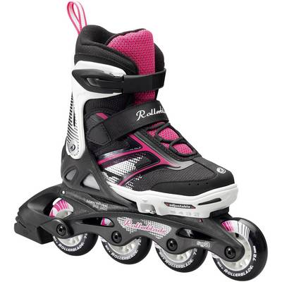 ROLLERBLADE Spitfire Girl Fitness Skates Kinder schwarz/weiß/rosa
