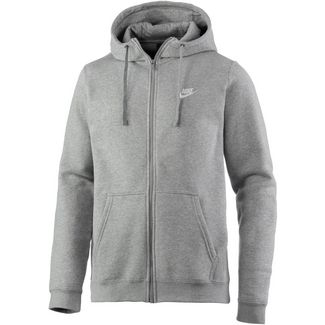 Nike NSW Club Sweatjacke Herren grau