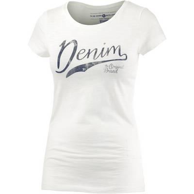 TOM TAILOR T-Shirt Damen weiß
