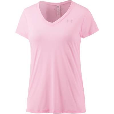 Under Armour Tech T-Shirt Damen rosa/melange