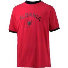 ID Merchandising Albanien Fanshirt Herren rot