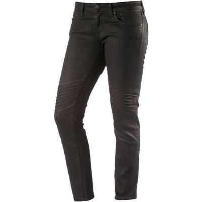 Mavi Aura Skinny Fit Jeans Damen black denim
