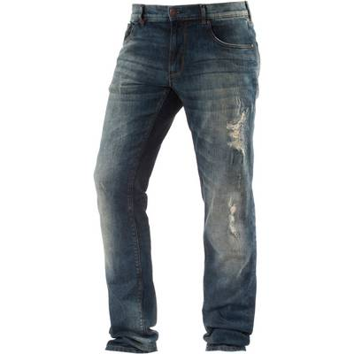 Shine Original Slim Fit Jeans Herren destroyed denim