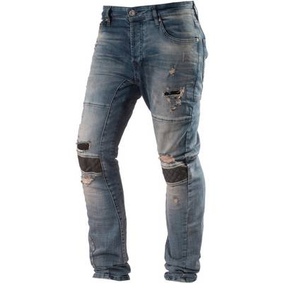 VSCT Slim Fit Jeans Herren destroyed denim
