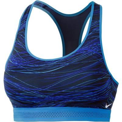 Nike Pro Fierce Sport-BH Damen blau/navy