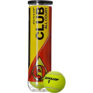 Dunlop Club Allcourt Tennisball bunt