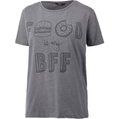 Only T-Shirt Damen grau