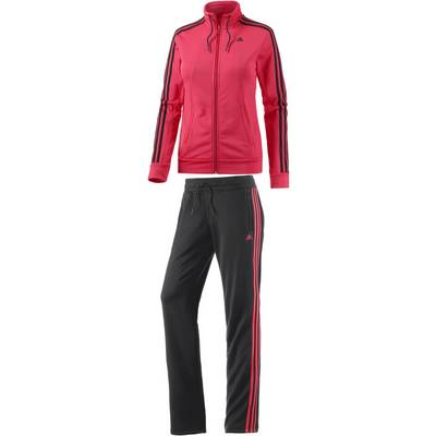 adidas Trainingsanzug Damen koralle/schwarz