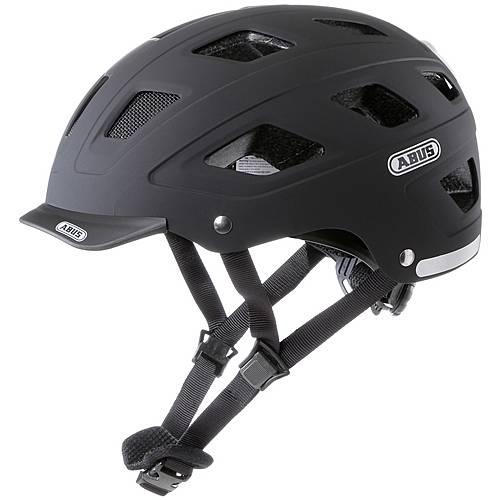 abus helm hyban fahrradhelm schwarz im online shop von. Black Bedroom Furniture Sets. Home Design Ideas