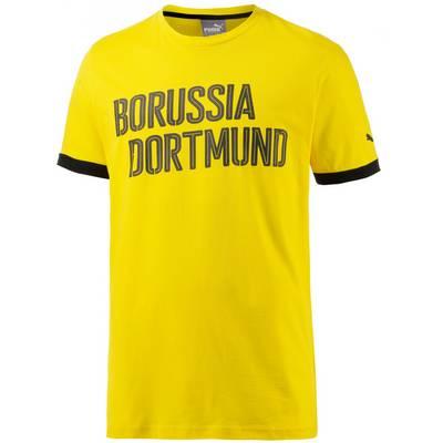 PUMA Borussia Dortmund Fanshirt Herren gelb/schwarz