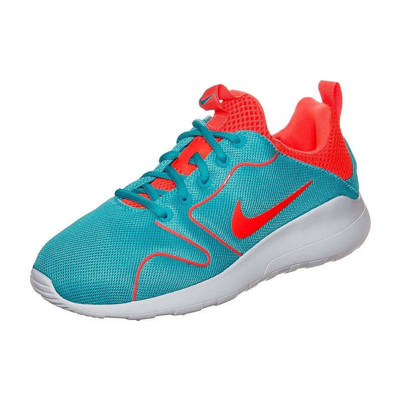 timeless design 281c6 4cb0d NikeKaishi 2.0 SneakerDamen hellblau   neonrot
