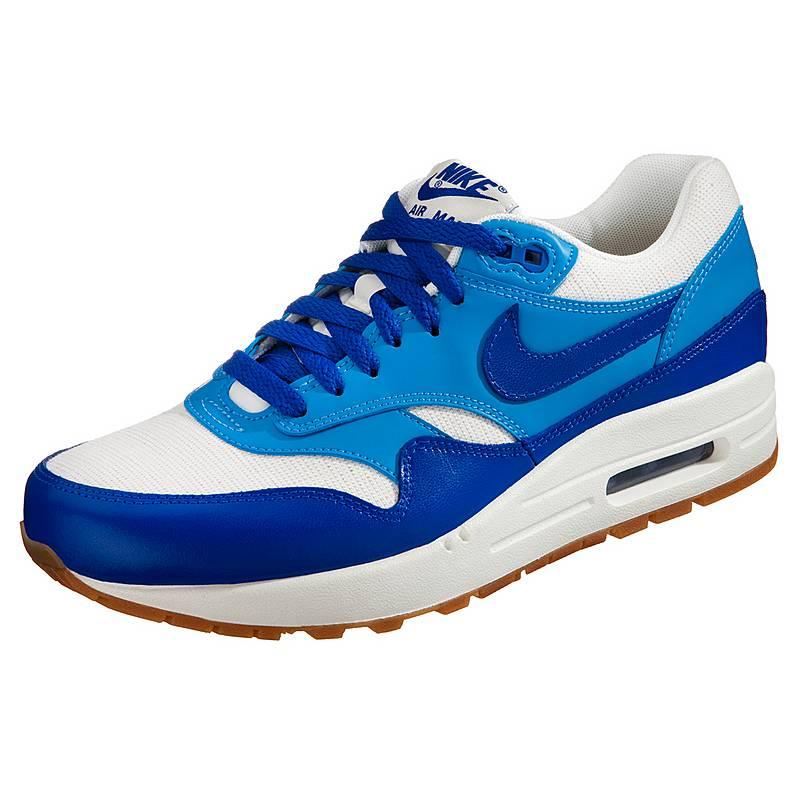 Nike Damen Air Max 1 Vintage Sneakers Blau/Weiszlig;