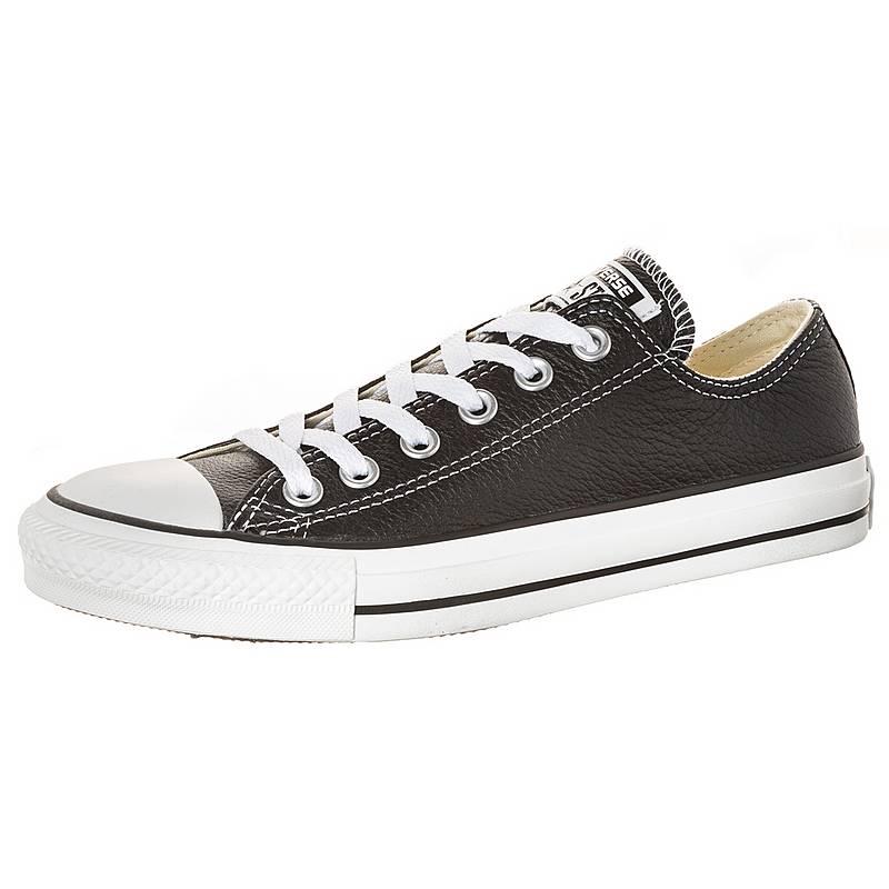 CONVERSEChuck Taylor All Star OX Classic Leather  Sneakerschwarz / weiß