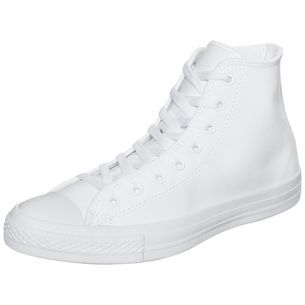 CONVERSE Chuck Taylor All Star High Leather Sneaker weiß