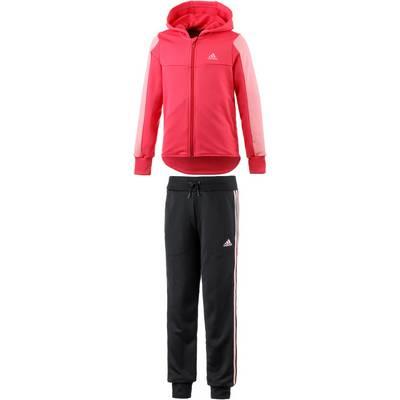 adidas Trainingsanzug Kinder rosa/schwarz