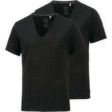 Calvin Klein V-Shirt Herren schwarz