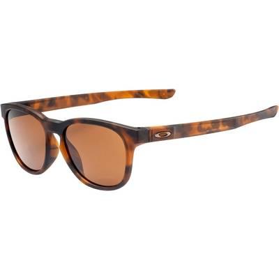 Oakley Stringer Sonnenbrille matte brown tort, dark bronze