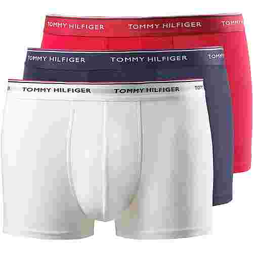Tommy Hilfiger Boxer Herren white-tango red-peacoat