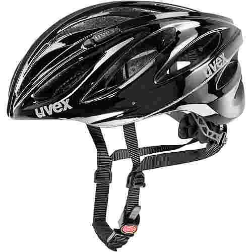 uvex boss race fahrradhelm schwarz im online shop von. Black Bedroom Furniture Sets. Home Design Ideas