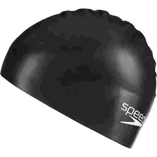 SPEEDO Moulded Silicone Junior Badekappe Kinder black
