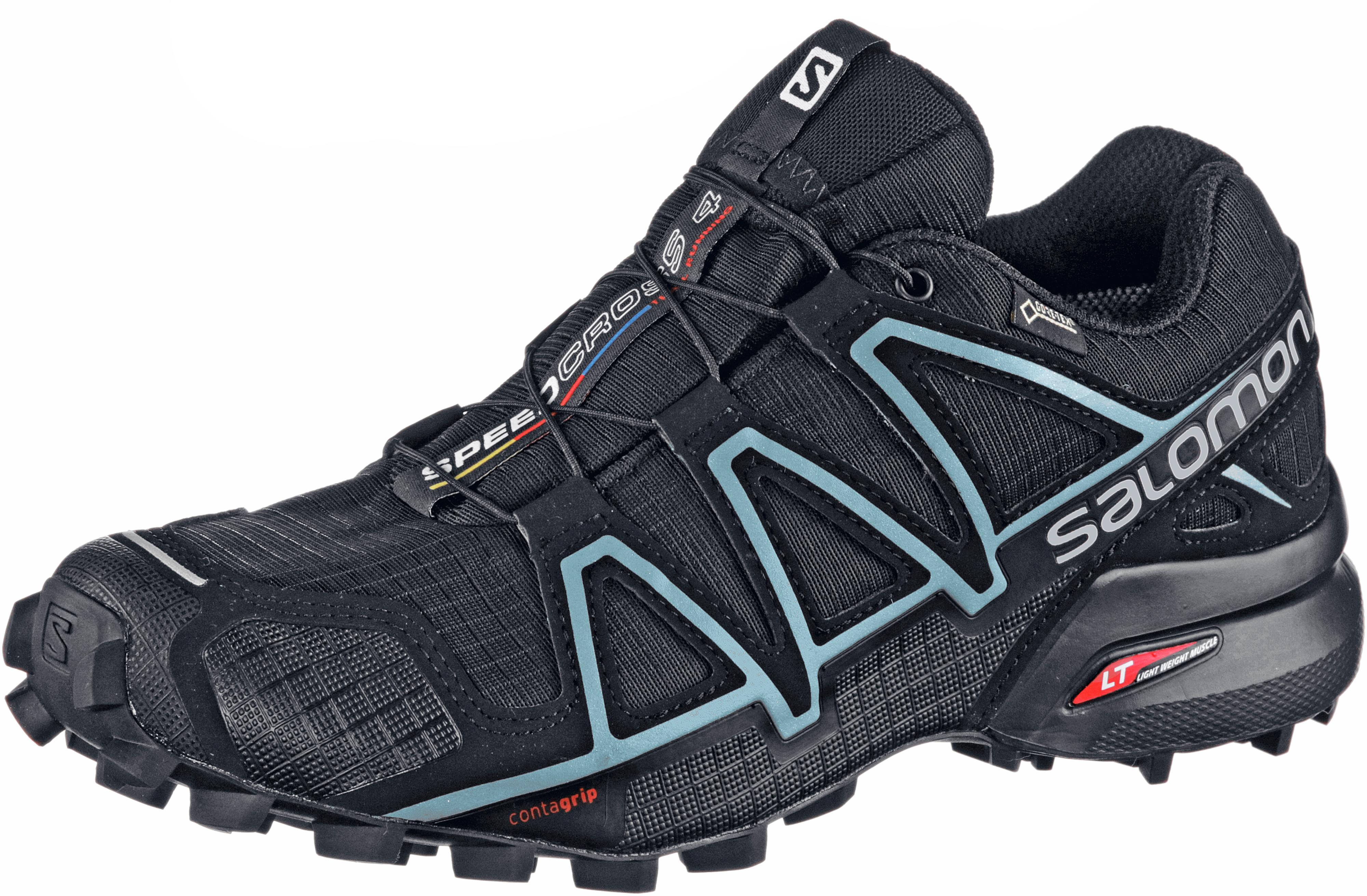Salomon SPEEDCROSS 4 Trailrunning Schuhe Damen schwarz im Online Shop von SportScheck kaufen