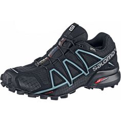Salomon SPEEDCROSS 4 GTX® Trailrunning Schuhe Damen schwarz