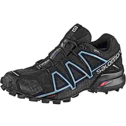 Salomon SPEEDCROSS 4 GTX® Trailrunning Schuhe Damen schwarz