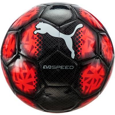 PUMA evo SPEED Fußball schwarz/rot