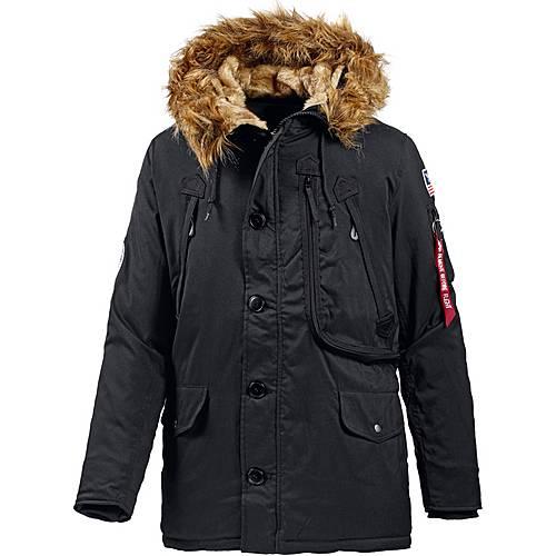 Jacket Shop Sportscheck Herren Schwarz Von Kaufen Industries Online Polar Im Alpha Parka vw80mNn