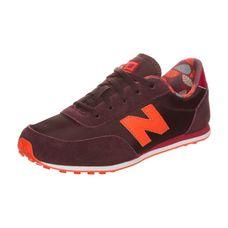 NEW BALANCE KL410-Z6Y-M Sneaker Kinder bordeaux / orange