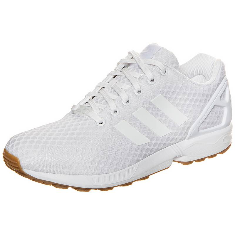 new products d9ef8 7d421 ... 50% off adidas zx flux sneaker damen weiß 8ad18 b4e50